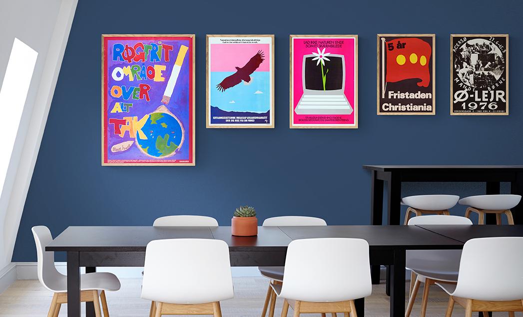 Mange nye plakater